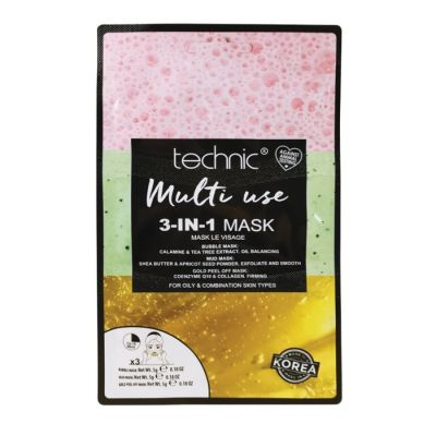 Technic Multi Use 3-In-1 Mask