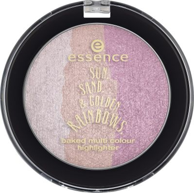 essence sun. sand. & golden rainbows Highlighter 01