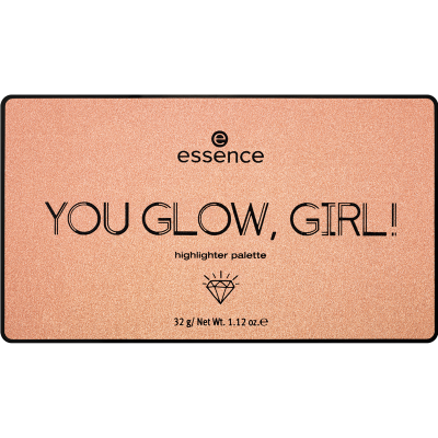 essence YOU GLOW, GIRL! highlighter palette