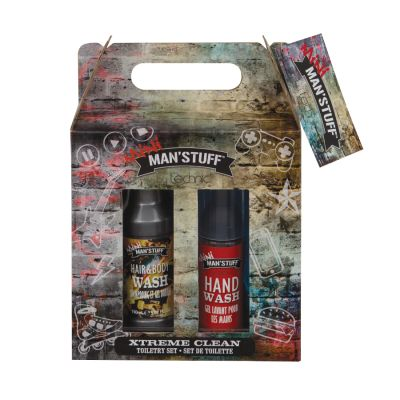 Technic Man'Stuff Xtreme Clean Toiletry Set Gift Set