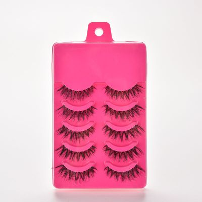 MakeUp false lashes 5 pairs - A20