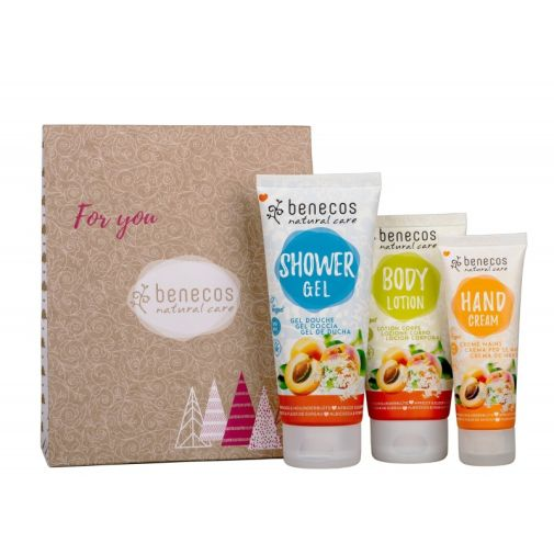 Benecos Apricot & Elderflower Gift Set