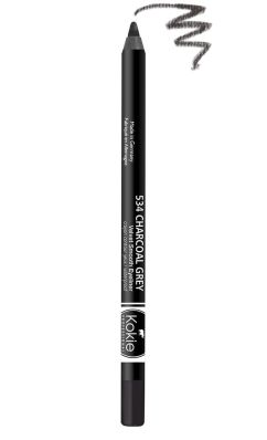 Kokie Waterproof Velvet Smooth Eyeliner - Charcoal Grey