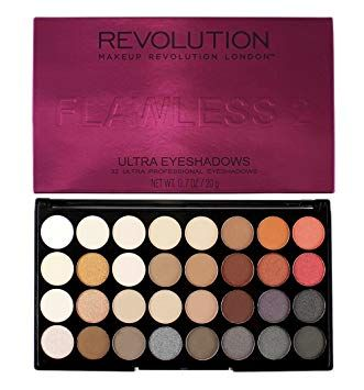 Makeup Revolution Ultra 32 Shade Eyeshadow - Flawless 2