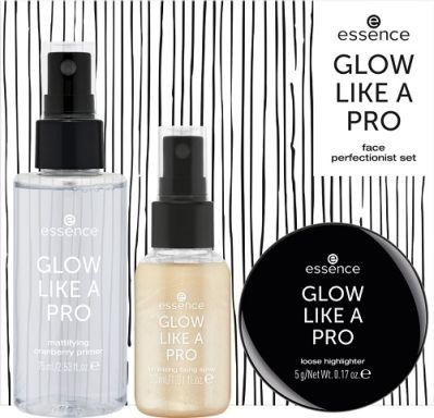 essence GLOW LIKE A PRO face perfectionist set 01