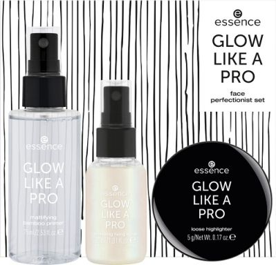 essence GLOW LIKE A PRO face perfectionist set 02