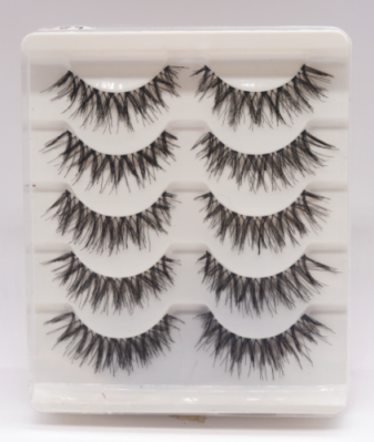 MakeUp false lashes 5 pairs - H6918
