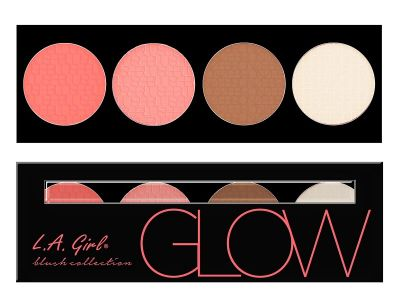 L.A. Girl Beauty Brick Blush Collection - Glow