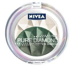 Nivea Pure Diamond Eyeshadow Trio - Majestic Greens