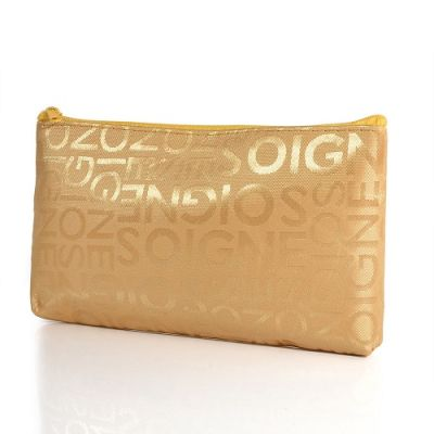 Makeup Bag - Gold
