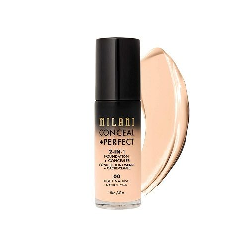 Milani Conceal + Perfect 2-in-1 Foundation + Concealer - Light