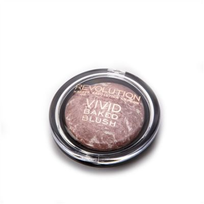 Makeup Revolution Vivid Baked Blusher - Hard Day