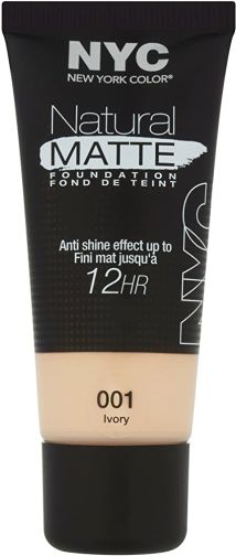 NYC Natural Matte Foundation - Ivory