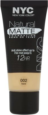 NYC Natural Matte Foundation - Sand