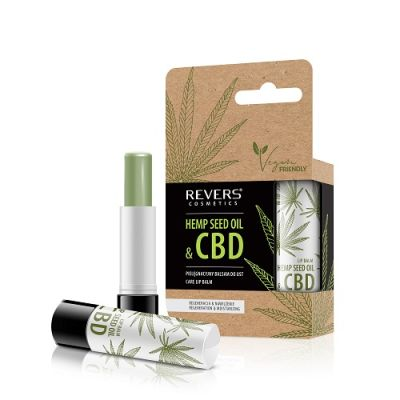 Revers Care Lip Balm With Natural Hemp Oil