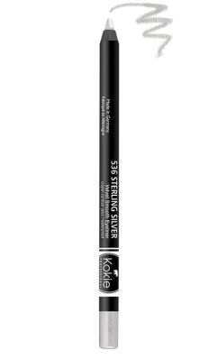 Kokie Waterproof Velvet Smooth Eyeliner - Sterling Silver