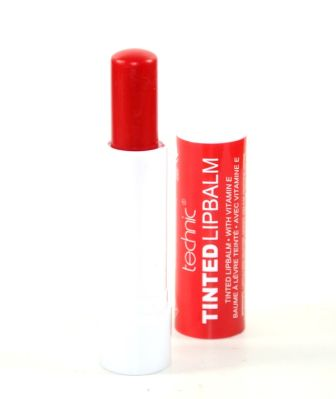 Technic Tinted Lipbalm - Cherry Red