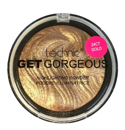 Technic Get Gorgeous Highlighting Powder - 24ct Gold