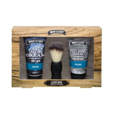 Technic Man'Stuff Closer Shave Gift Set