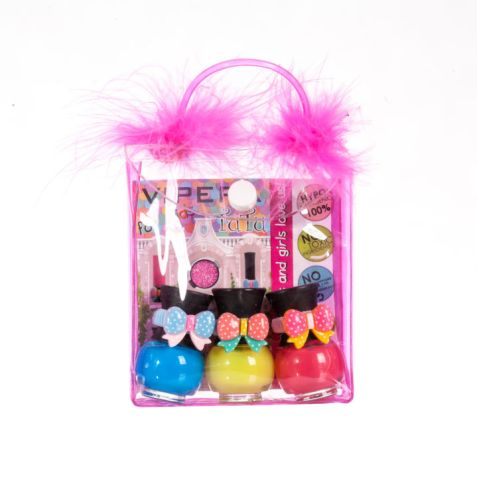 TuTu Peel-Off Nail Polish 3 pcs in a purse