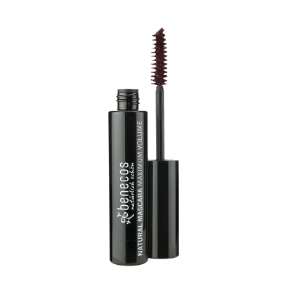 Benecos Natural Maximum Volume Mascara - Ruskea