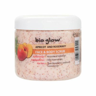 Bio Glow Apricot and Rosemary Face & Body Scrub