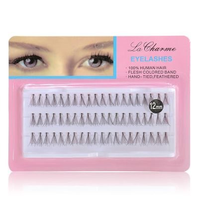 Makeup Charming Individual False Lashes 12mm