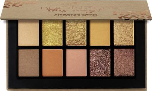 essence BRONZED this way! eyeshadow palette