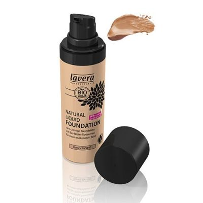 Lavera Natural Liquid Foundation - 03 Honey Sand