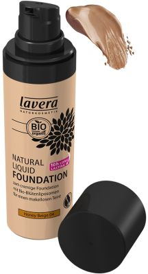 Lavera Natural Liquid Foundation - 04 Honey Beige