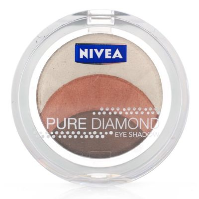 Nivea Pure Diamond Eyeshadow Trio - Magnetic Browns