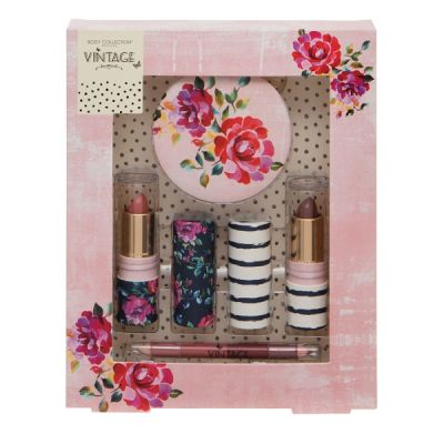Body Collection Vintage Lips Gift Set