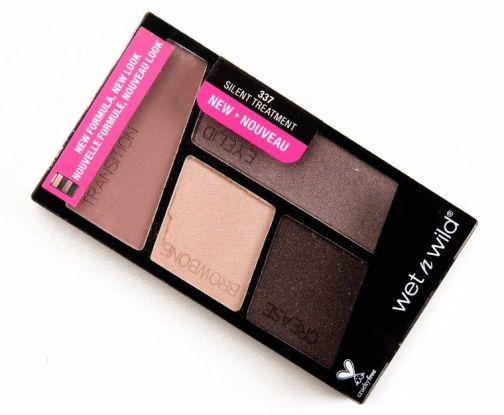 Wet n Wild Color Icon Eyeshadow Quad - Silent Treatment